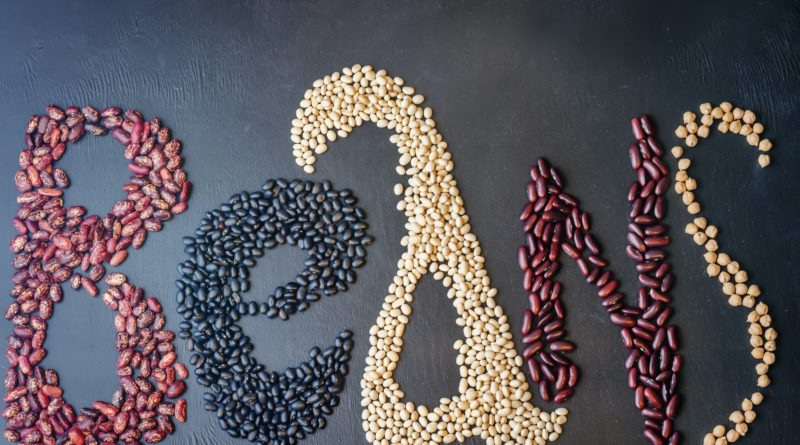 beans written with beans