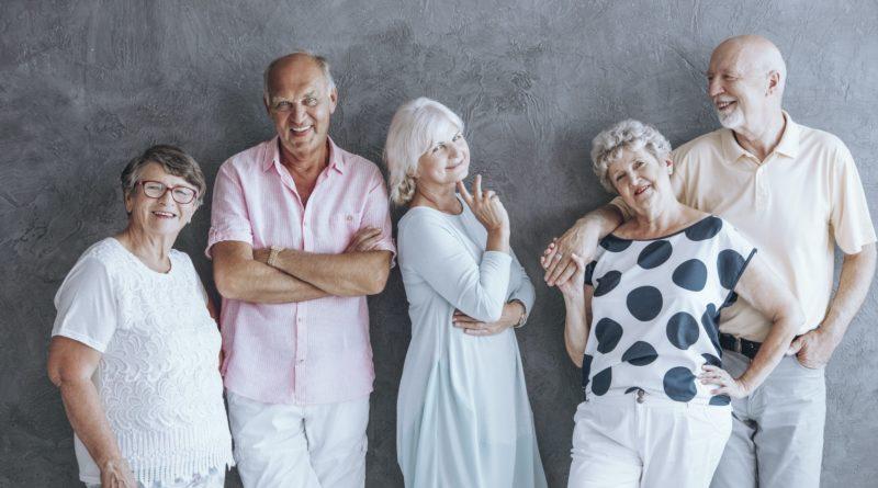 Active seniors fashion statement