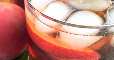 Southern Red's Ginger-Peach Iced Tea