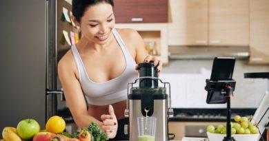 Making healthy juice
