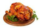 Homemade chicken rotisserie